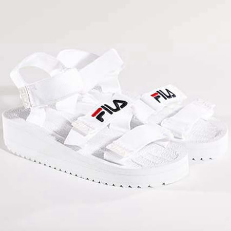 Fila Sandales Femme Tomaia 1010345 1FG White