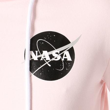 NASA - Sweat Capuche Insignia Desaturate Rose Pale