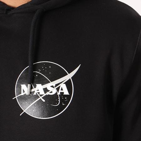 NASA - Sweat Capuche Insignia Desaturate Noir