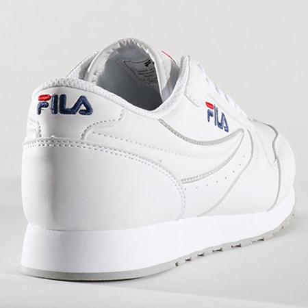 Fila - Baskets Femme Orbit Low 1010308 1FG Blanc