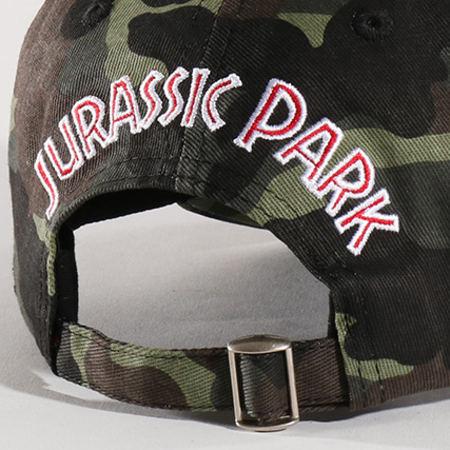 Jurassic Park - Casquette MCP001 Vert Kaki Camouflage