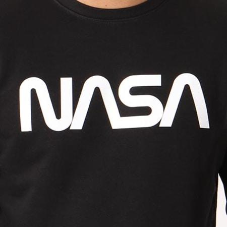 NASA - Sweat Crewneck Flags Noir