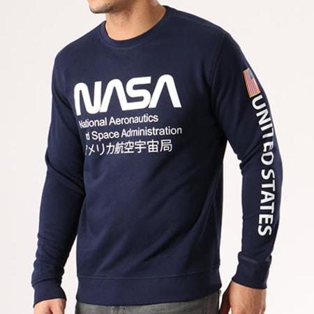 NASA - Sweat Crewneck Admin Bleu Marine