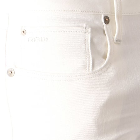 G Star Jean Slim 3301 51001 6729 Blanc
