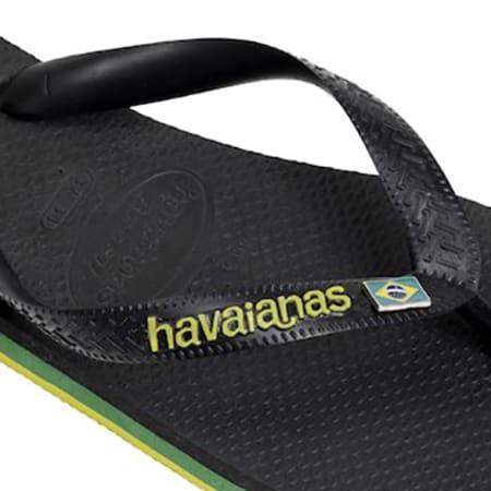 Havaianas - Tongs Brasil Layers Black