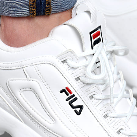 Fila Baskets Disruptor Low 1010262 1FG White