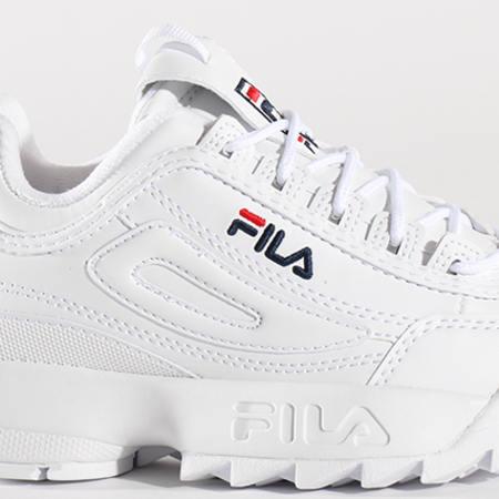 Fila - Baskets Femme Disruptor Low 1010302 1FG White