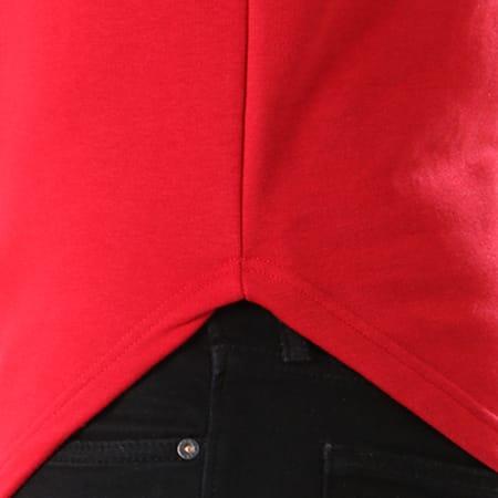 LBO - Sweat Capuche Oversize 410 Rouge