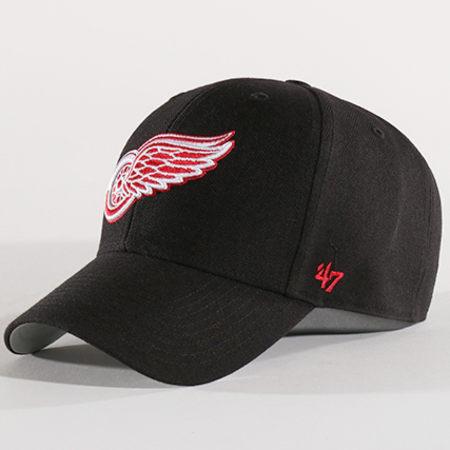 '47 Brand - Casquette Detroit Redwings MVP 05WBV Noir