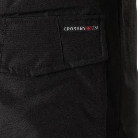 Crossby - Parka Fourrure Mario Noir