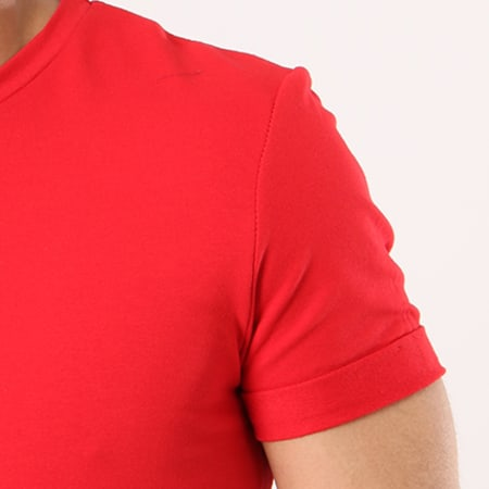Aarhon - Tee Shirt Oversize 1807 Rouge