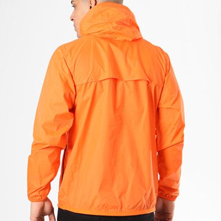 K-Way - Coupe-Vent Le Vrai Claude 3.0 Orange