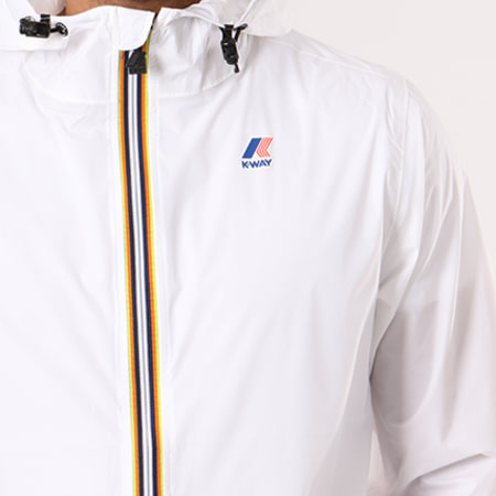 K-Way - Coupe-Vent Le Vrai Claude 3.0 Blanc
