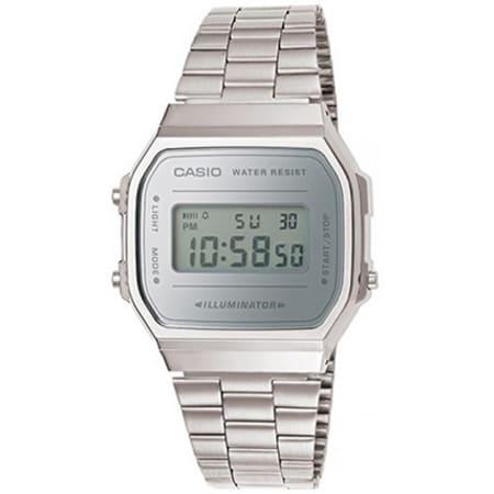 Casio - Montre Collection A168WEM-7EF Argent