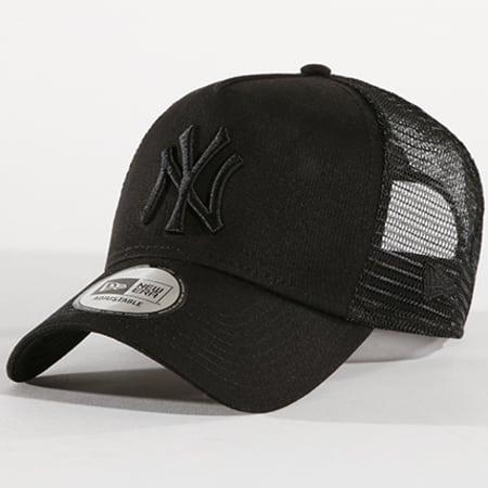 New Era - Casquette Trucker Clean New York Yankees 11579474 Noir