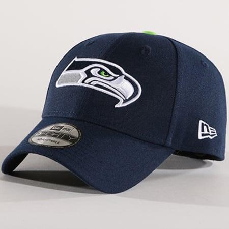 New Era - Casquette The League Seattle Seahawks 10517868 Bleu Marine
