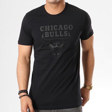 New Era - Tee Shirt Team Logo Chicago Bulls 11530755 Noir