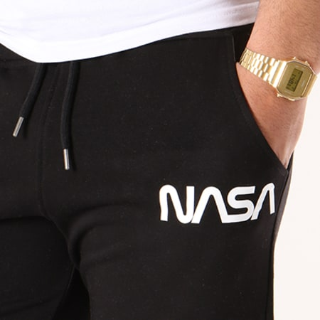 NASA - Short Jogging Worm Logo Noir