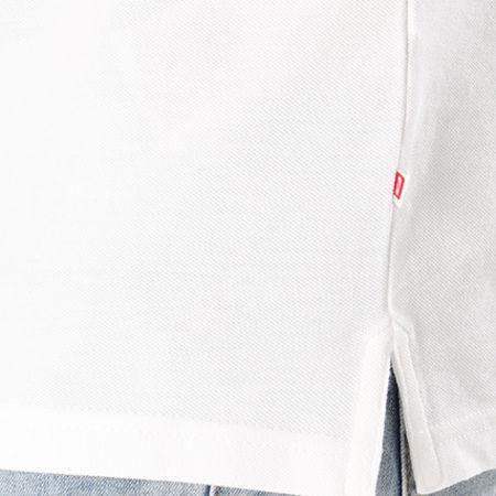 Jack And Jones - Polo Manches Courtes Basic Blanc