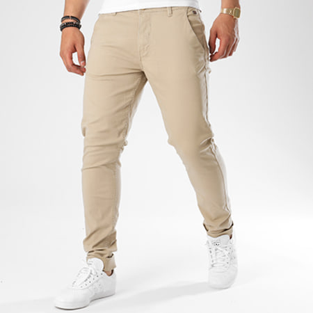 Blend - Pantalon Chino 20703472 Beige