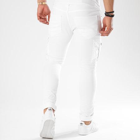 John H - Jean Slim A301 Blanc