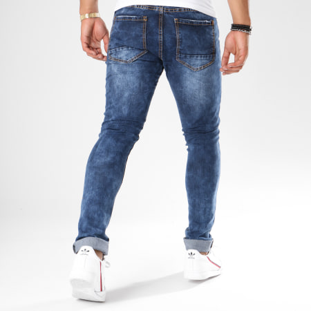 LBO - Jean Skinny 72210-1 Denim Bleu Medium