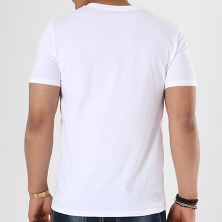 Luxury Lovers - Tee Shirt USA Blanc