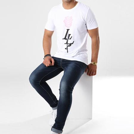 Luxury Lovers - Tee Shirt Rose Blanc