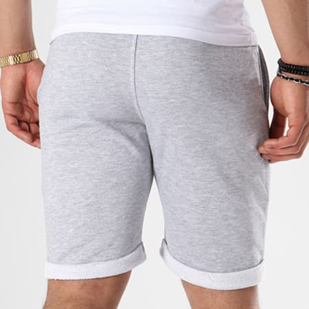 Luxury Lovers - Short Jogging Rose Gris Chiné