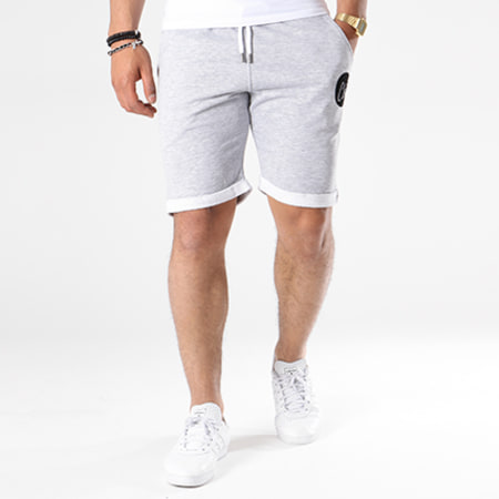 Luxury Lovers - Short Jogging Chill Gris Chiné