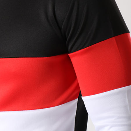 Aarhon - Ensemble Survetement 101105 Tricolore Noir Blanc Rouge