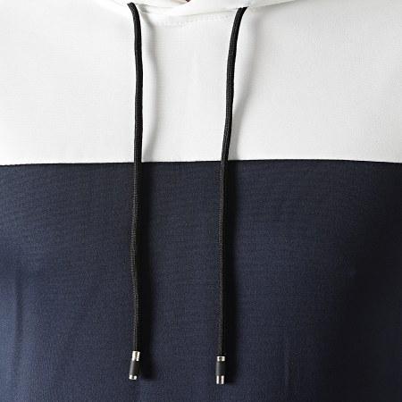 Aarhon - Ensemble Survetement 104105 Bicolore Bleu Marine Blanc