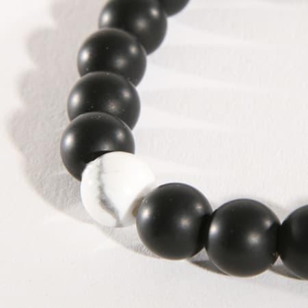 California Jewels - Bracelet Marble Noir