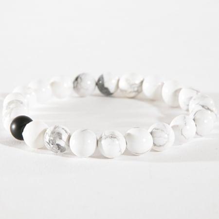 California Jewels - Bracelet Marble Blanc