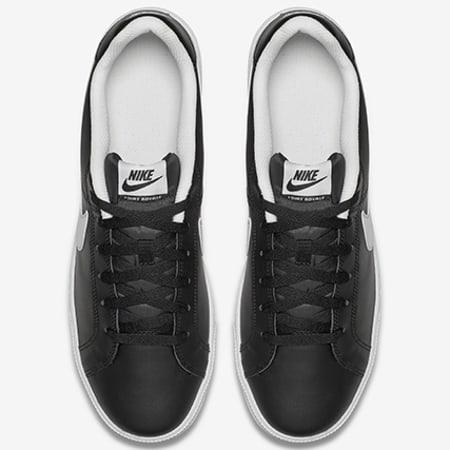 Nike Baskets Court Royale 749747 010 Black White