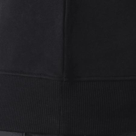 Calvin Klein - Sweat Crewneck Basic Monogram Logo 7742 Noir
