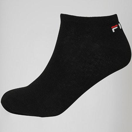 Fila - Lot De 3 Paires De Chaussettes Calza F9100 Noir