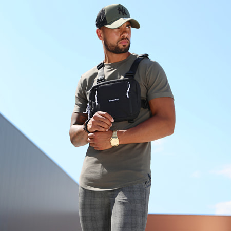 Uniplay - Tee Shirt Oversize UP-T311 Vert Kaki