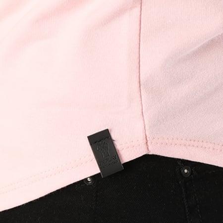 Uniplay - Tee Shirt Oversize UP-T311 Rose Clair