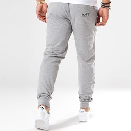 EA7 - Pantalon Jogging 8NPPC3-PJ05Z Gris Chiné Noir
