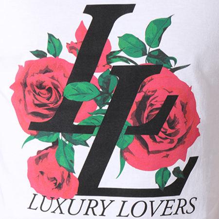 Luxury Lovers - Débardeur Emblem Blanc