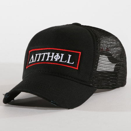 Anthill - Casquette Trucker Patch Noir Rouge