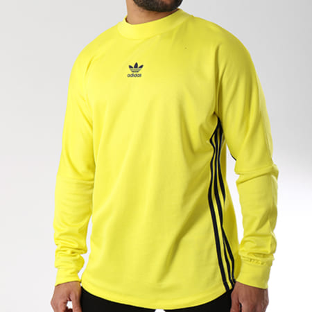 adidas Tee Shirt Sequencials Climate Homme Jaune Fluo