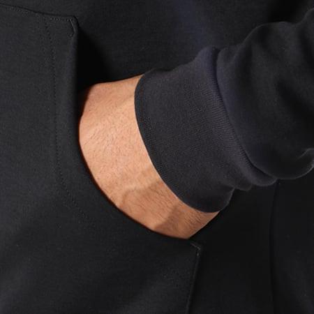 Le Coq Sportif - Sweat Zippé Capuche Ess N1 1820035 Noir