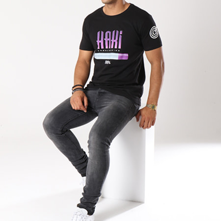D Ace - Tee Shirt Haki Noir