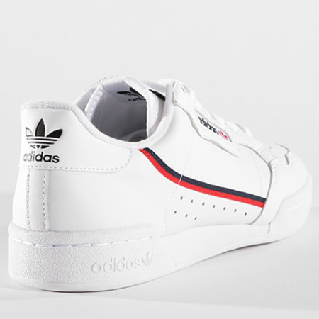 adidas - Baskets Continental 80 B41674 Footwear White ...