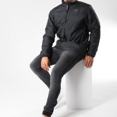 Opinión menor ganado  adidas - Doudoune Basic CZ0616 Noir - LaBoutiqueOfficielle.com