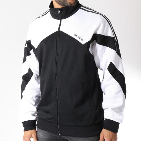 veste adidas noir et blanche