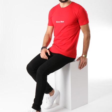 13 Block - Tee Shirt Gothic Rouge