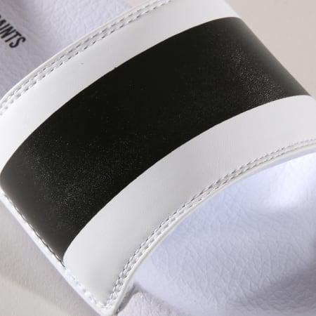 Classic Series - Claquettes Dash Blanc Noir